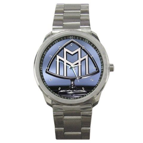 Maybach Motorenbau German Luxury Car Logo Sport Metal Watch | zarkop - Jewelry on ArtFire