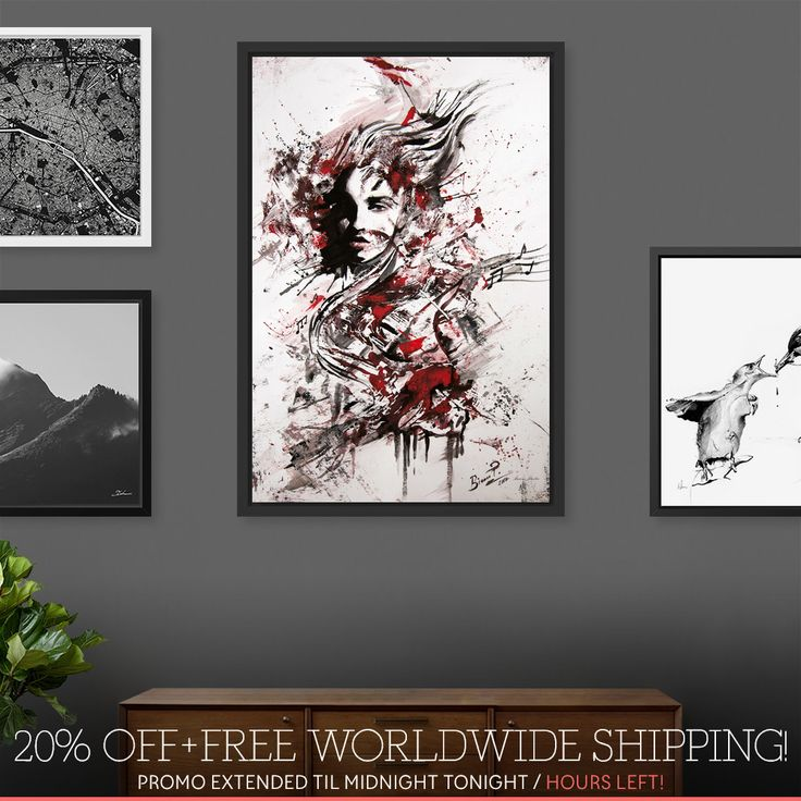 Surprise! 20% OFF and Free Worldwide Shipping continues til midnight...!   Use code WALLGOALS: https://www.curioos.com/biancaparaschivart/promo
