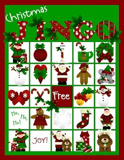 Holiday Games and Ideas. Bingo for classroom.