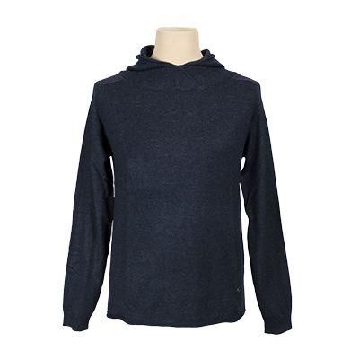 Maglia young con cappuccio - Denim - Invernale NEROVAGO. € 38,30. #hallofbrands #hob #maglia #sweater #jersey #knitwear #invernale #wintry #winter