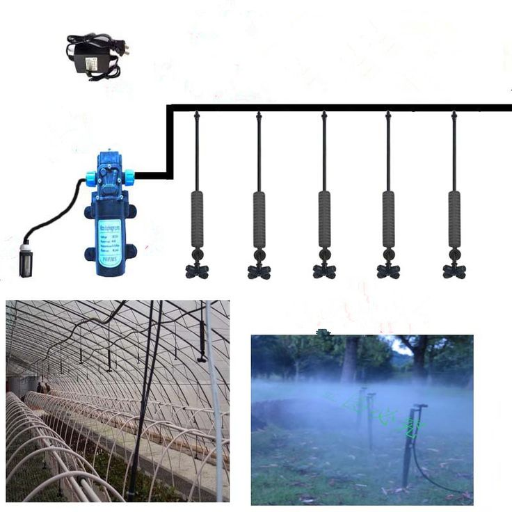 ==> [Free Shipping] Buy Best 30m micro irrigation hose set 12V mini water pump 30pcs high quality hanging sprinkler Online with LOWEST Price   32629105989