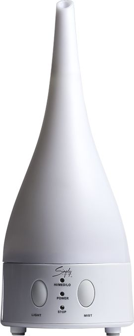 Simply Aroma's Ultrasonic Diffuser. *Note: Original diffuser is white. Colors appear when LED lights are activated. - $65.00 - https://www.simplyaroma.com/BeverlySmith