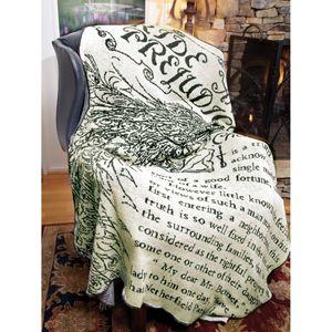 Pride & Prejudice Throw Blanket