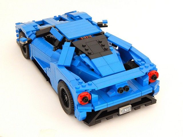 2017 Ford GT LEGO Car Is Not Just for Children