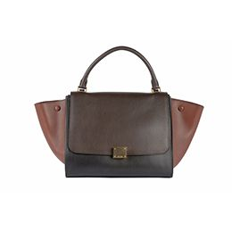 Black&Brown Trapeze Céline handbag: the most wanted bag of all times!! on www.rentfashionbag.com
