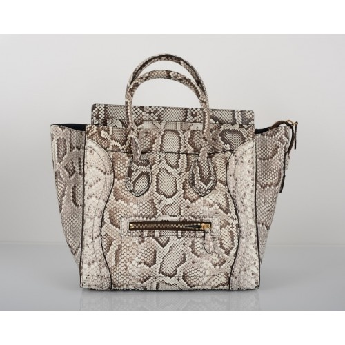 Celine Python Mini Luggage Bag, Sold Out in Stores #PorteroPinToWin