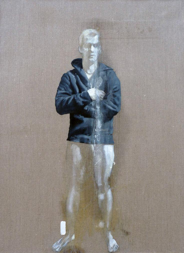 580 INO ONI MATHIEU  Huile sur toile (54x73(2012)
