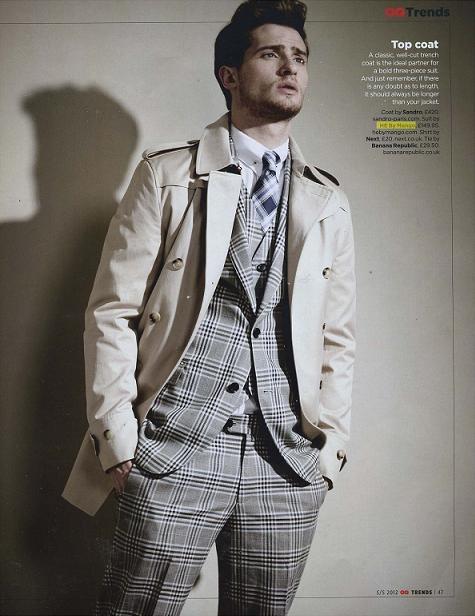 H.E. by MANGO suit (GQ, UK)