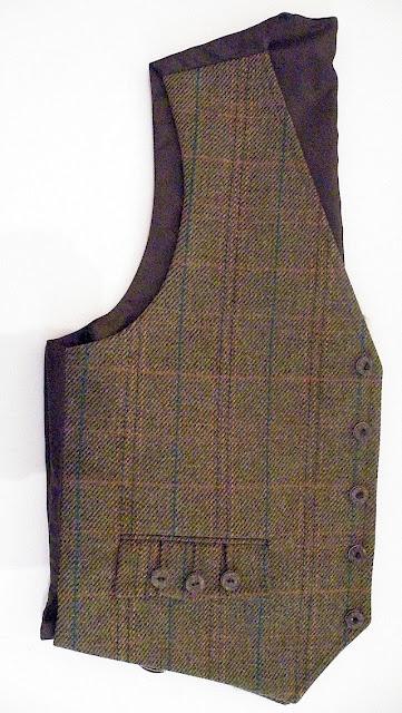Fine Scottish Haggarts Tweed Argyll Jacket & Waistcoats