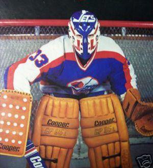 former Winnipeg Jets goalie Doug Soetaert
