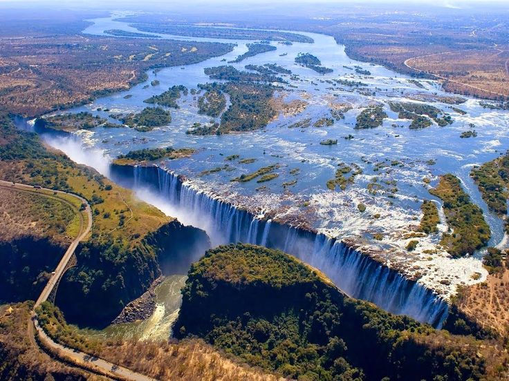 Wodospad Wiktorii (Zimbabwe/Zambia)