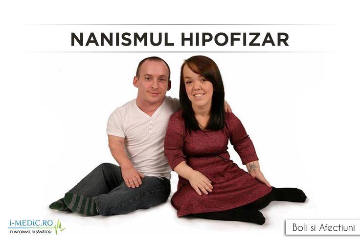 Nanismul hipofizar mai este cunoscut si sub denumirea de piticism. Nanismul afecteaza cresterea si dezvoltarea individului printr-o secretie insuficienta de hormon somatotrop hipofizar, numit si hormon de crestere sau growth hormone. http://www.i-medic.ro/boli/nanism-hipofizar