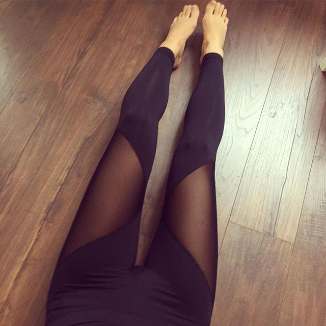 Last but not least: New @varley tights Absolutely love them! #inVarley #activewear