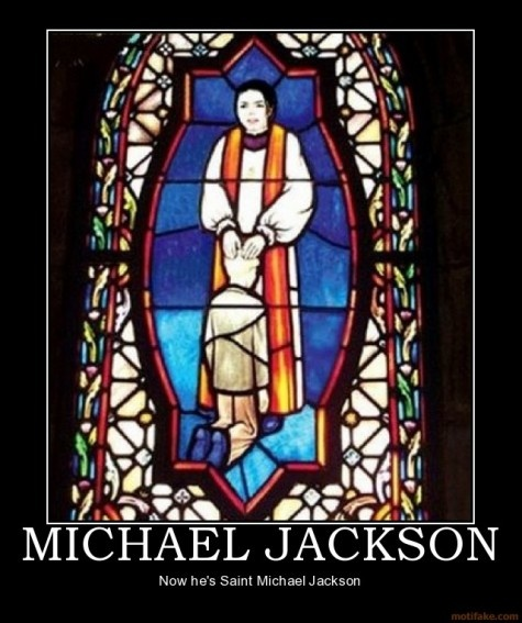 : 0: Jackson Demotivational, Stainglass, Michael Jackson, Stained Glasses