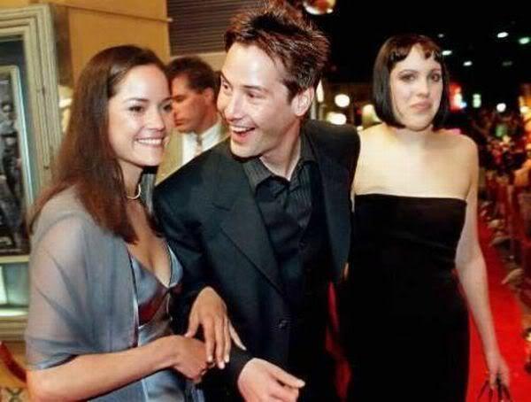 Keanu Reeves and his sisters
