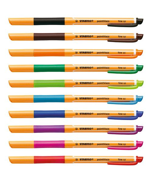 Look at this 10-Piece Point Visco Drum Pen Set on #zulily today!