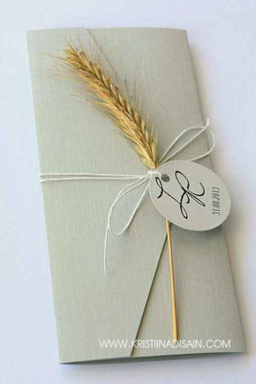 33 Wheat Decor Ideas For A Rustic Country Wedding | Weddingomania