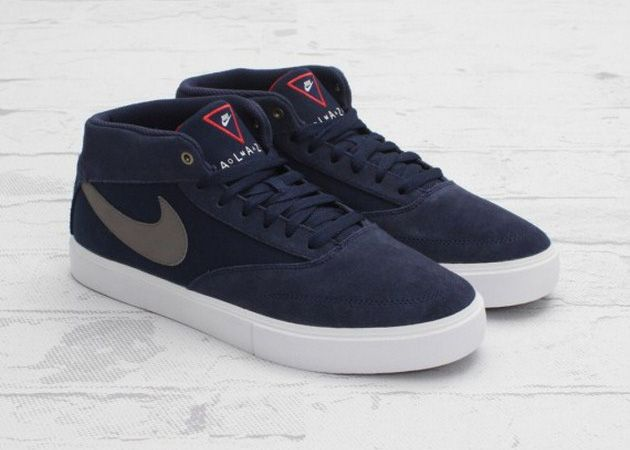 Nike SB Omar Salazar LR – Midnight Navy/Metallic Pewter