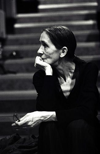 Pina Bausch photographed by Donata Wenders.