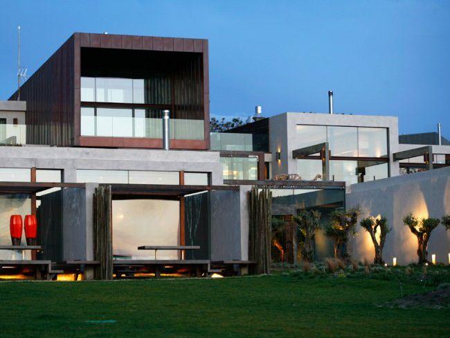 Fabulous concrete and glass eco-resort