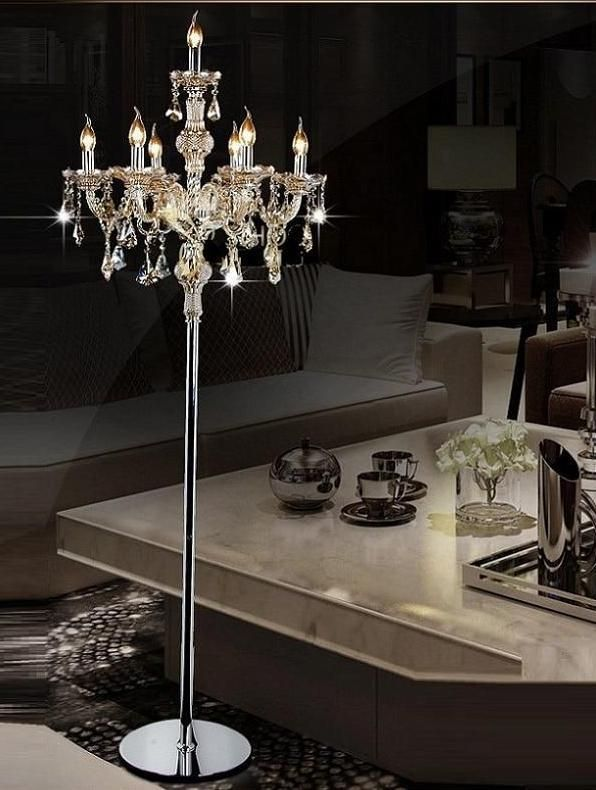 Luxury Crystal Modern Living Room Led Floor Lamp Lights In 2020 Floor Lamps Living Room Modern Floor Lamps Living Room Modern Living Room Table