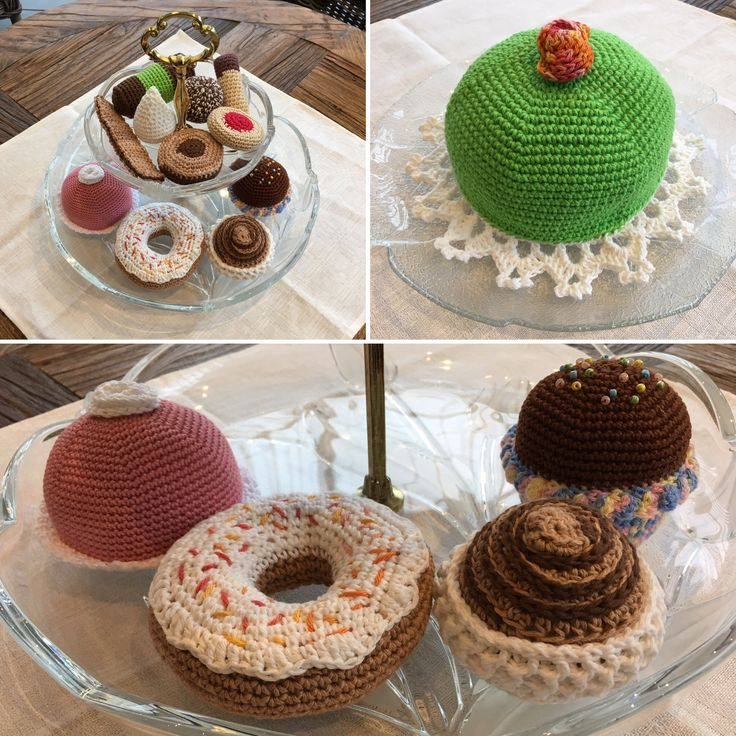 Virkade kakor, Crochet cookies
