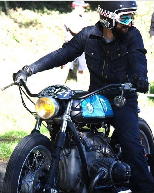 Modified BMW R60/7 | Wide handlebars