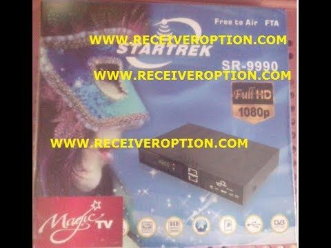 STARTREK SR 9990 HD RECEIVER 8MB POWERVU KEY NEW SOFTWARE