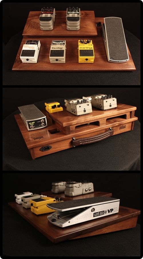 Atlas Stands Powered Guitar Effects Pedal Board