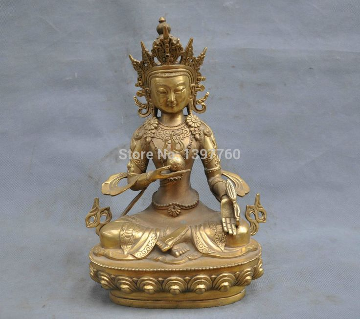 Мисс 00569 12  китай тибетский буддизм кшитигарбха бодхисаттвы бронзовый будда статуя