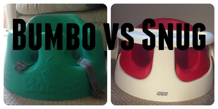 Baby chair review: the bumbo vs mamas and papas snug chair