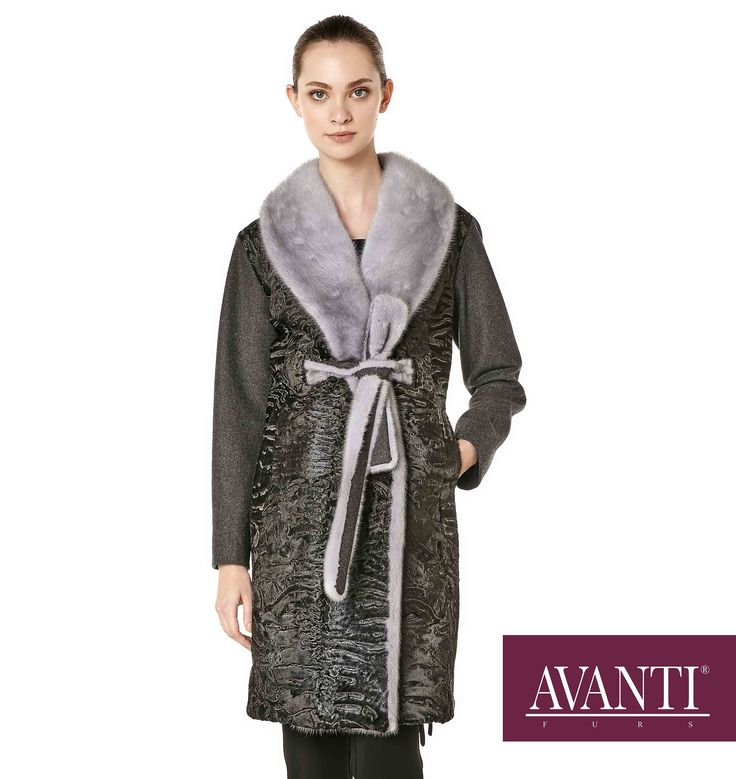AVANTI FURS - MODEL: BUBBLE-BATH Z SWAKARA JACKET with Mink and Cashmere details #avantifurs #fur #fashion #fox #luxury #musthave #мех #шуба #стиль #норка #зима #красота #мода #topfurexperts