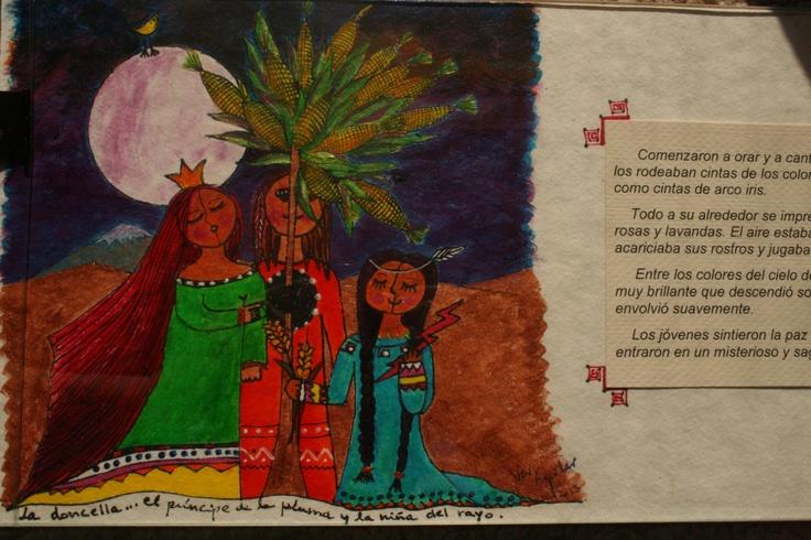 "Martes 9 de abril: Tertulia Cuento Inca, ""Los Niños del Llullaillaco"", literatura Infantil, por Cristina Vera.  Sala de Exposiciones UCSC, Caupolicán 459. A las 19.00 hrs. Entrada liberada"