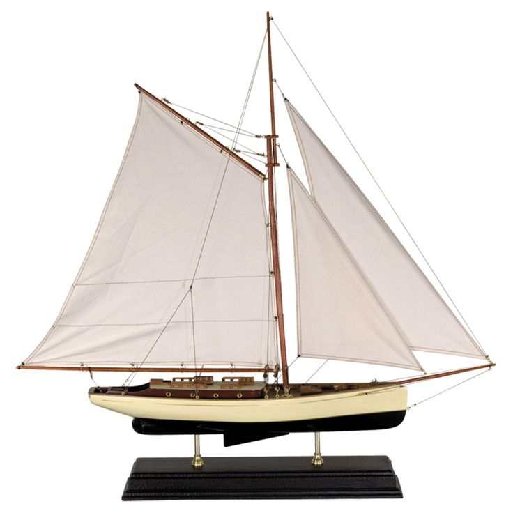 Authentic Models 1930's Classic Yacht - Large - AS135