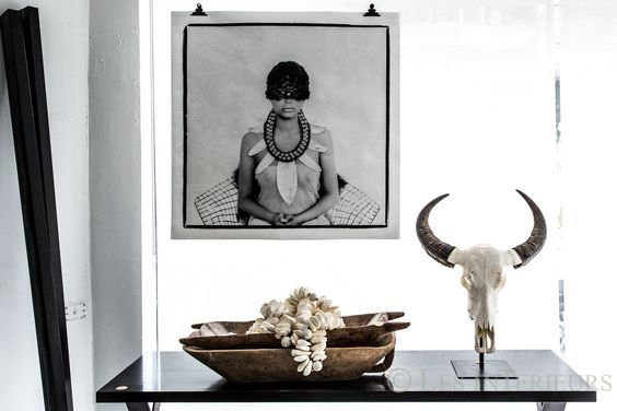 DAzulterrA_Atmospheres mix of industrial contemporary and tribal wares by   Pamela Makin