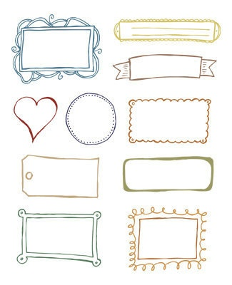 Cute printable labels.