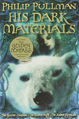 His Dark Materials Omnibus (The Golden Compass; The Subtle Knife; The Amber Spyglass) by Philip Pullman http://www.amazon.com/dp/0375847227/ref=cm_sw_r_pi_dp_qhLwvb1BHSAQZ  add to a list of books to read to my never gonna happen children