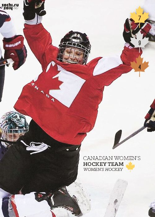 What an ending. What a rivalry. Canada came away victorious for the fourth straight Olympics in Women's Hockey, despite being down by 2 goals with under 4 minutes remaining in the 3rd period. It's the 7th gold, and 20th medal of the games for Canada.