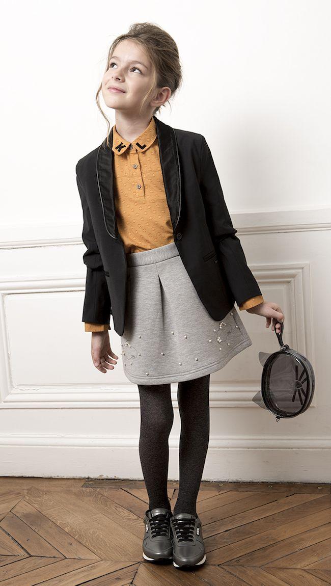 Karl Lagerfeld kid, colección super atractiva de otoño-invierno. No os la perdáis. Os invito a visitar la página web de Karl Lagerfeld online.