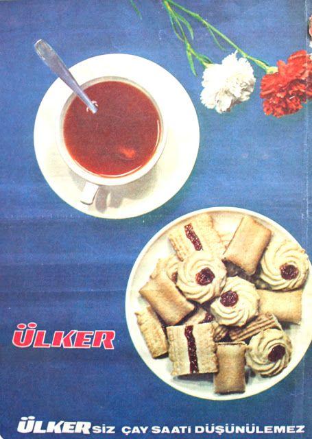 OĞUZ TOPOĞLU : ülker'siz çay saati düşünülmez 1970 senesi nostalj...