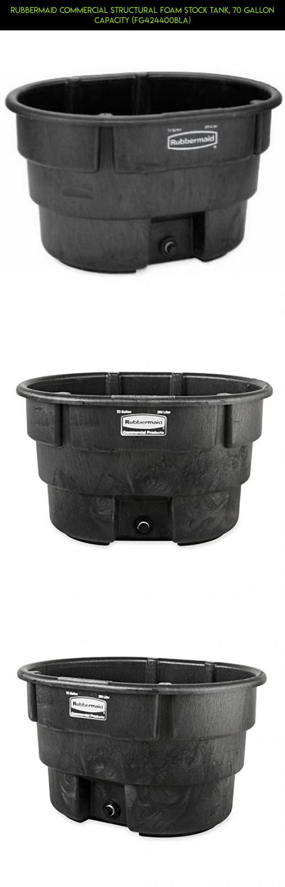 Rubbermaid Commercial Structural Foam Stock Tank, 70 Gallon Capacity (FG424400BLA) #plans #camera #gallon #parts #drone #70 #storage #technology #racing #kit #products #tech #fpv #shopping #gadgets