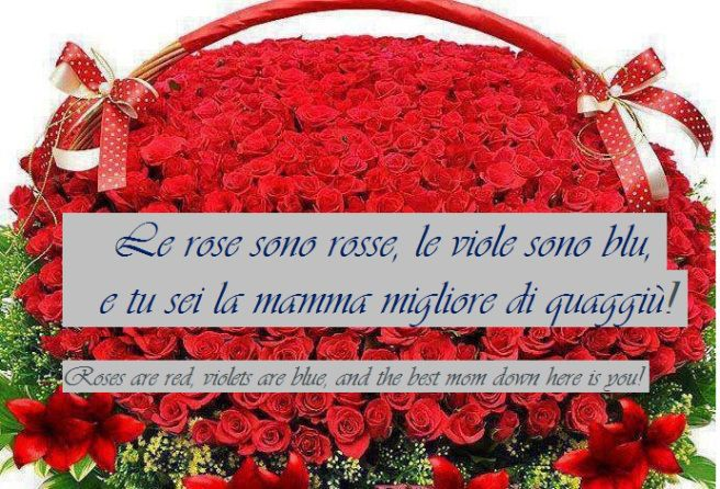 Mothers Day Saying in Italian