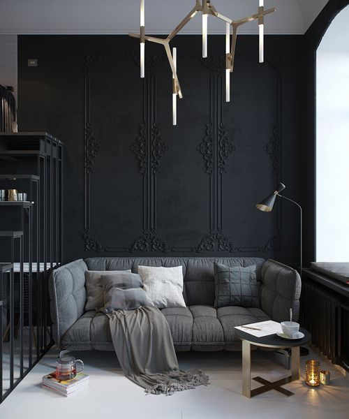 So Much Beauty - An old apartment is modernism #bathroom #bedroom #dinning room #kitchen #living room