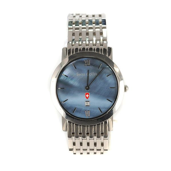 Ρολόι Swiss Golfer ανδρικό, μπλε 4877