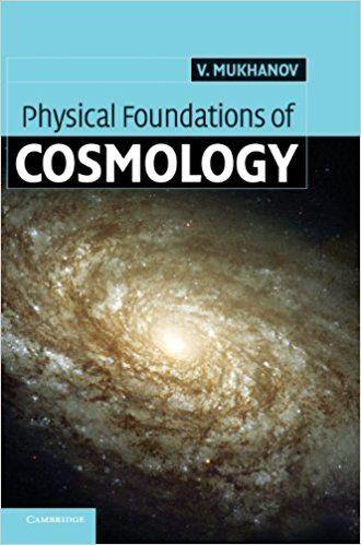 Resultado de imagen para physical foundations of cosmology