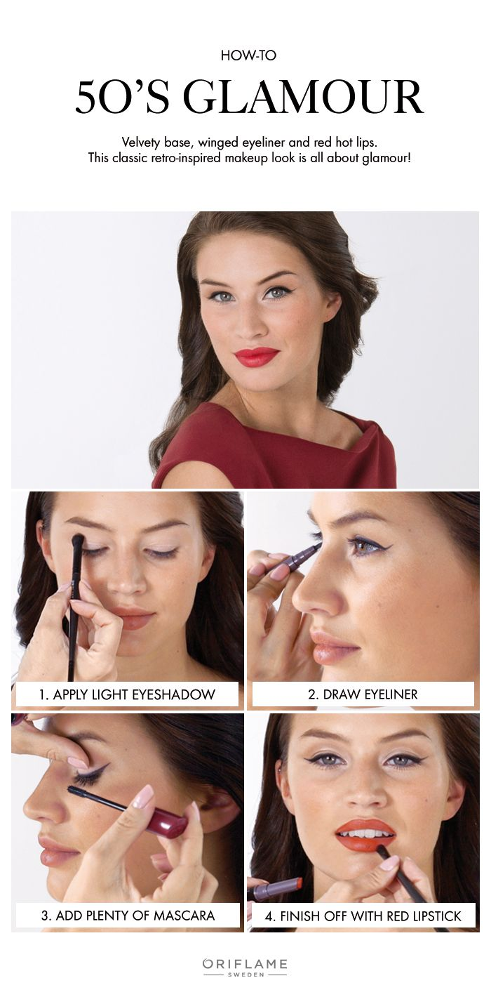 Add a little 50's glamour to your makeup routine