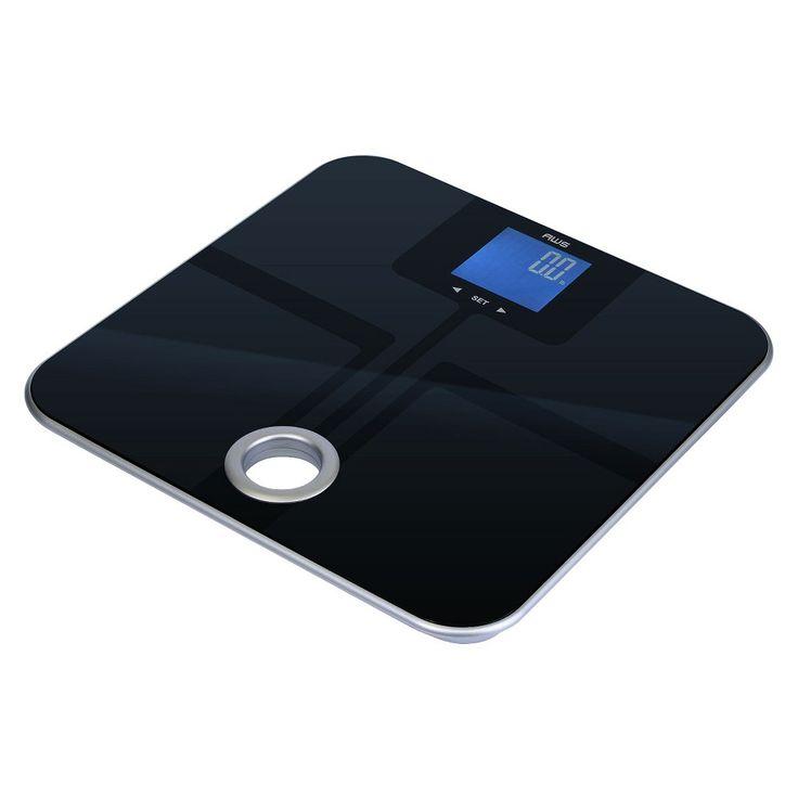 American Weigh Scales Mercury SL Body Fat Scale, Black
