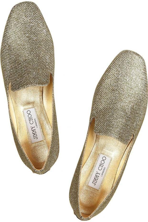Glitter slippers, £325 Jimmy Choo (jimmychoo.com) - London Evening Standard