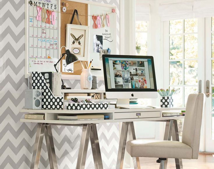 Study Room Decorating Ideas | Small Space | PBteen