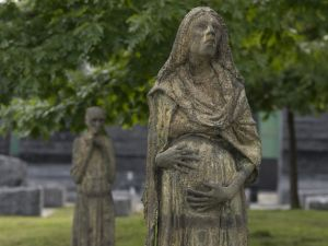 Read this little gem today. Any Whovian will realize how terrifying this is... National Post - Ireland Park, haunting memorial to Toronto's Irish immigrants, set to reopen after four year wait